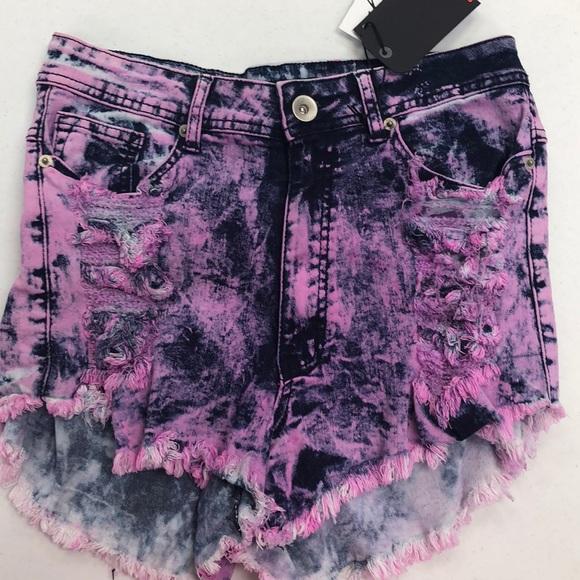 RedFox Pants - Distressed shorts